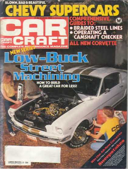 Car Craft - March 1983