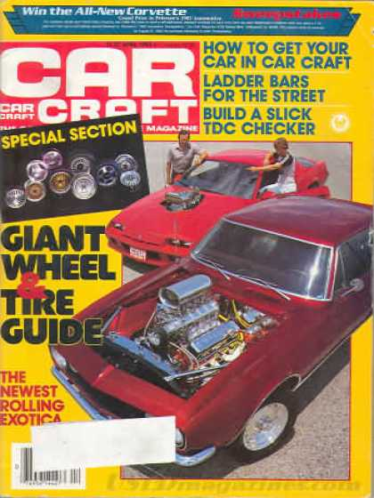 Car Craft - April 1983