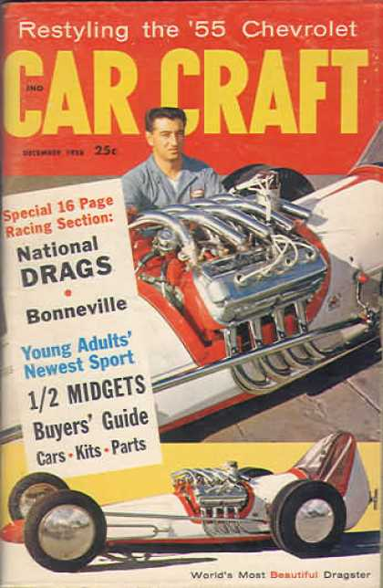 Car Craft - December 1958