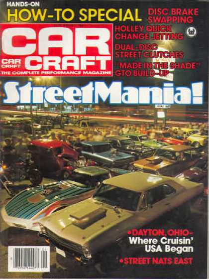Car Craft - January 1984
