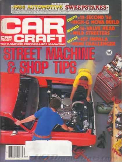 Car Craft - March 1984