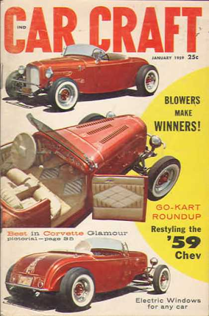 Car Craft - January 1959