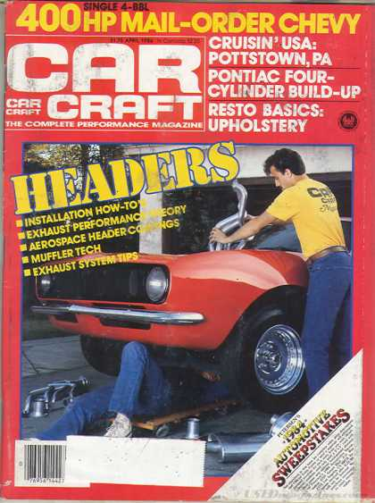 Car Craft - April 1984