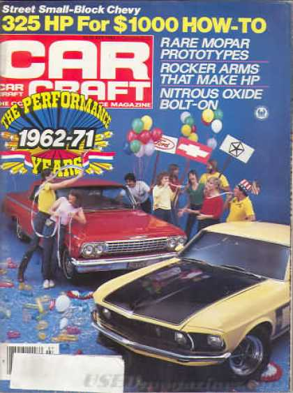 Car Craft - July 1984