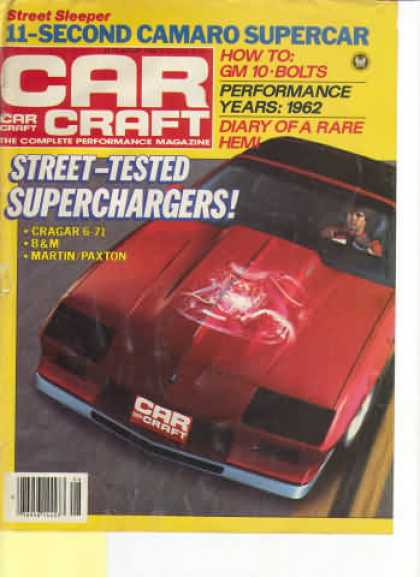 Car Craft - August 1984