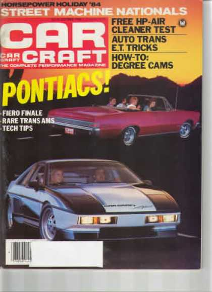 Car Craft - October 1984