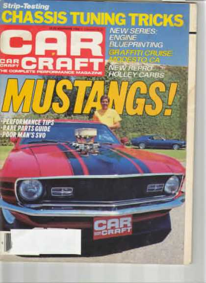 Car Craft - November 1984