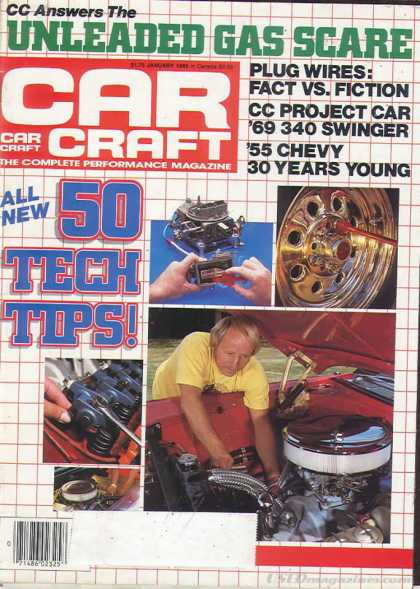 Car Craft - January 1985