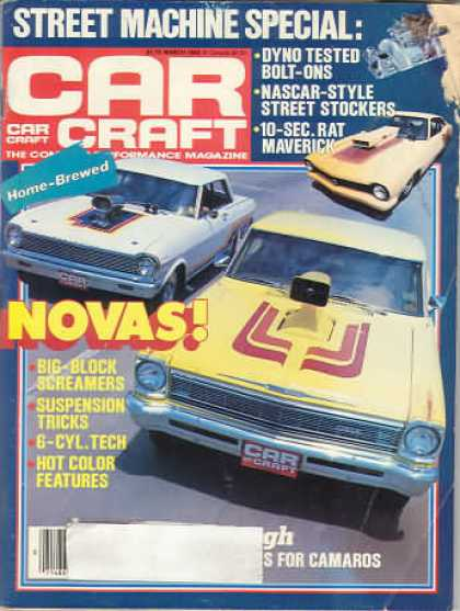 Car Craft - March 1985
