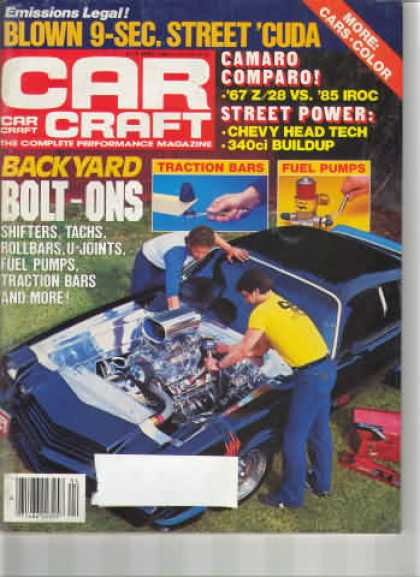 Car Craft - April 1985