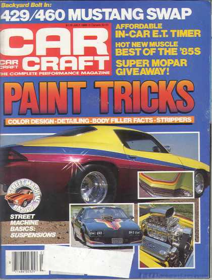 Car Craft - July 1985