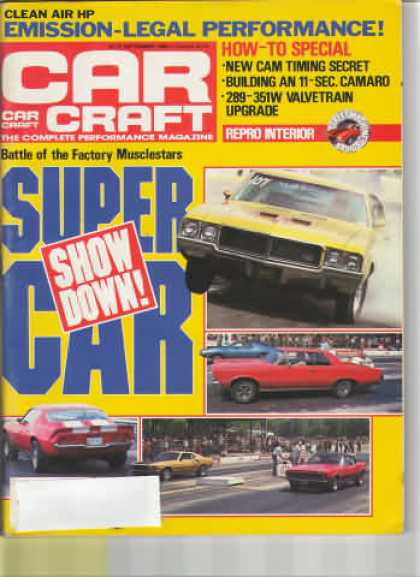 Car Craft - September 1985