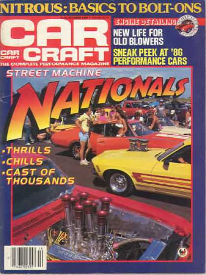 Car Craft - October 1985