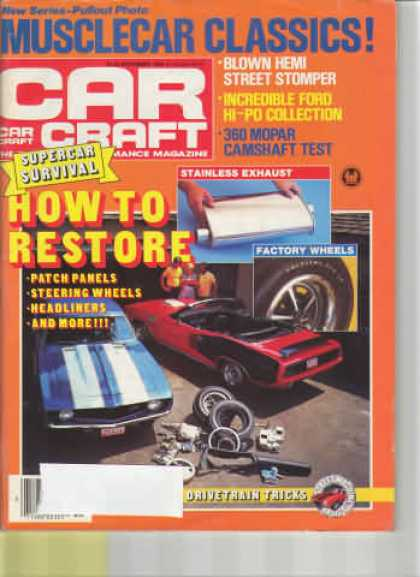 Car Craft - November 1985