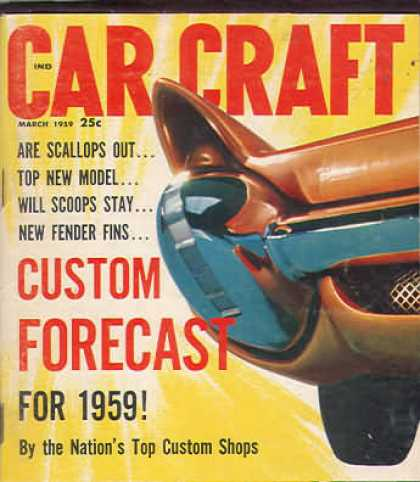 Car Craft - March 1959