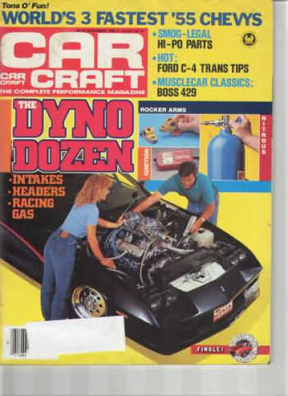 Car Craft - December 1985