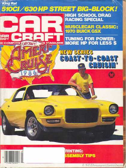 Car Craft - January 1986
