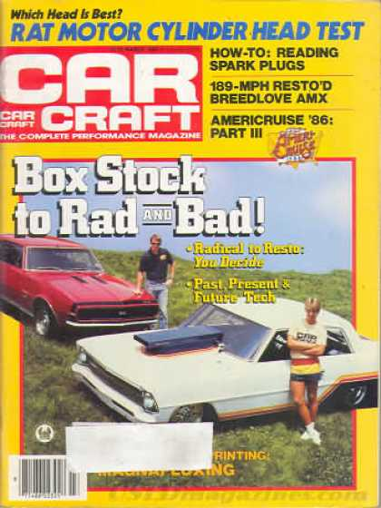 Car Craft - March 1986