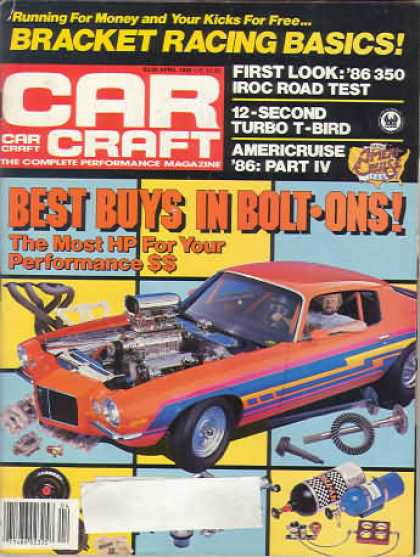 Car Craft - April 1986