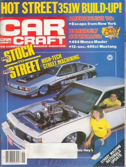 Car Craft - June 1986