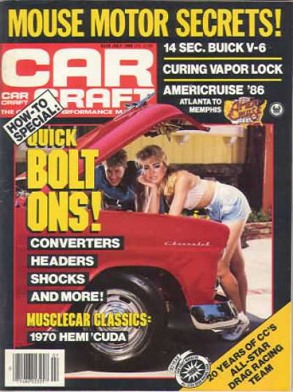 Car Craft - July 1986