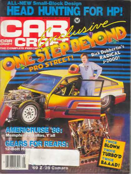 Car Craft - August 1986