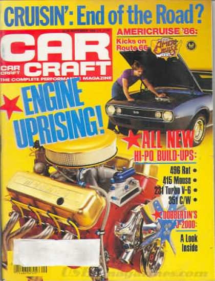 Car Craft - September 1986