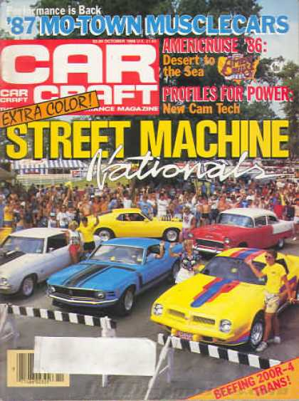 Car Craft - October 1986