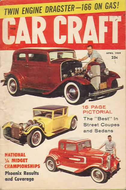 Car Craft - April 1959