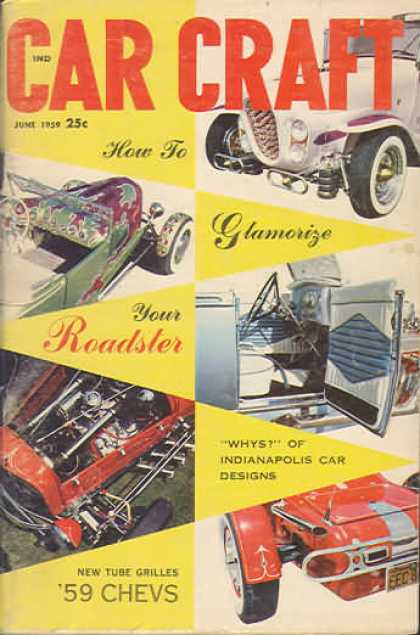Car Craft - June 1959