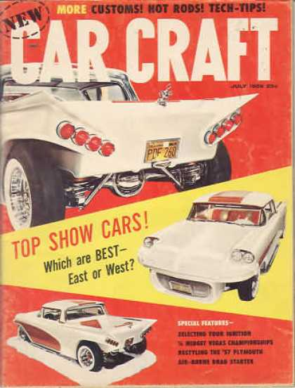 Car Craft - July 1959