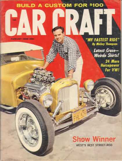Car Craft - August 1959