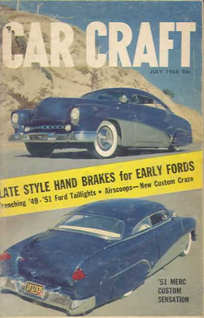 Car Craft - July 1955
