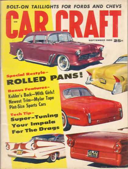 Car Craft - September 1959