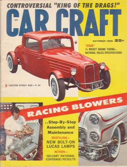 Car Craft - October 1959