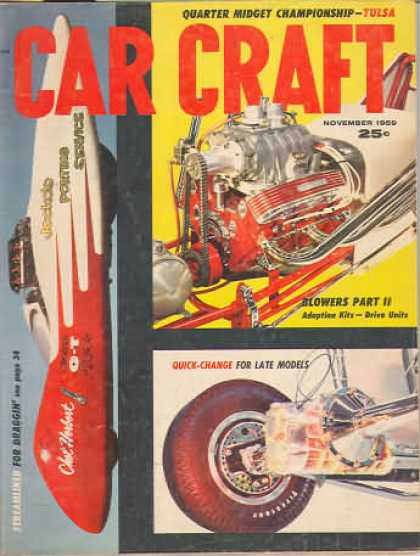 Car Craft - November 1959