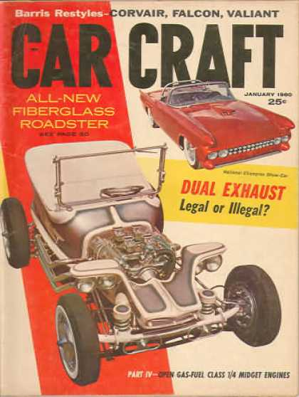 Car Craft - January 1960