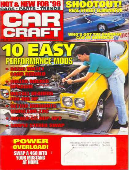 Car Craft - January 1996