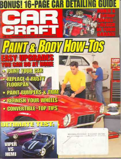 Car Craft - April 1996
