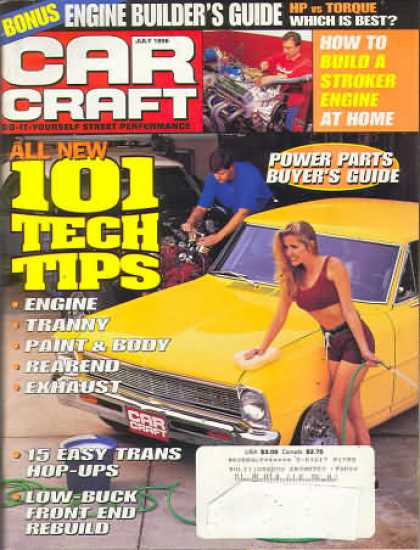 Car Craft - July 1996