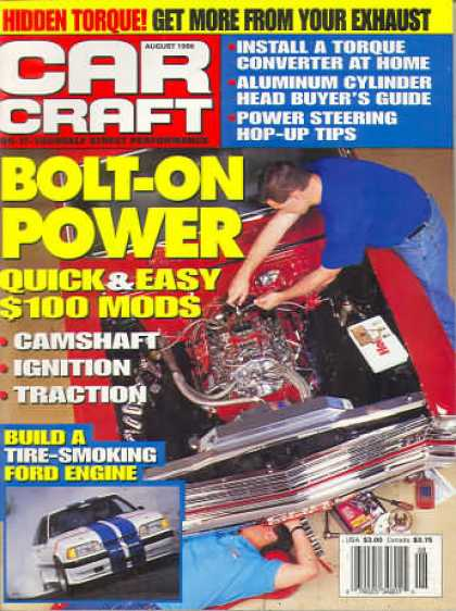 Car Craft - August 1996