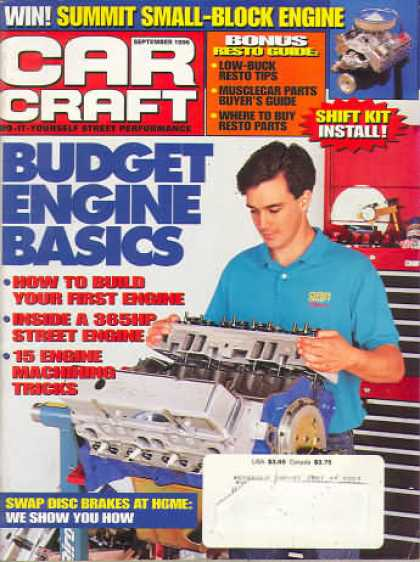 Car Craft - September 1996