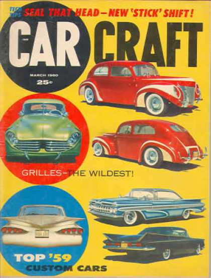 Car Craft - March 1960