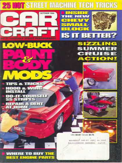 Car Craft - October 1996