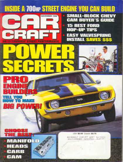 Car Craft - November 1996
