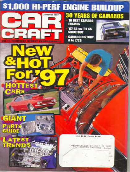 Car Craft - January 1997