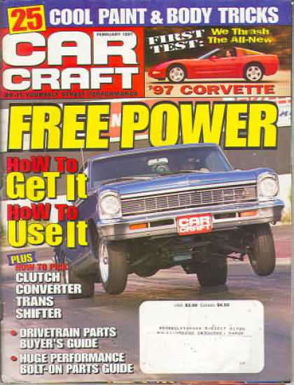 Car Craft - February 1997