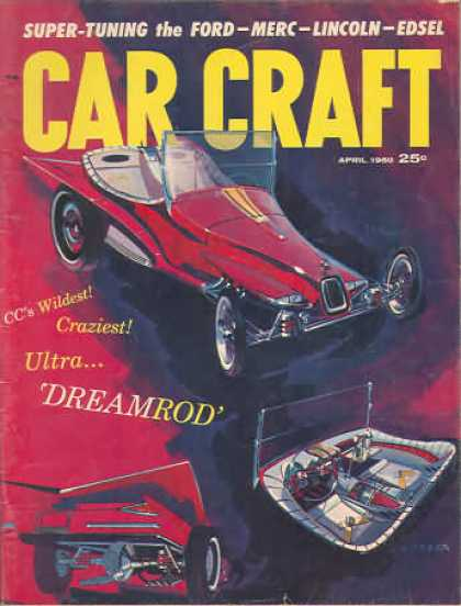 Car Craft - April 1960