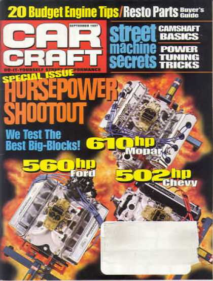Car Craft - September 1997