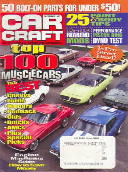 Car Craft - December 1997